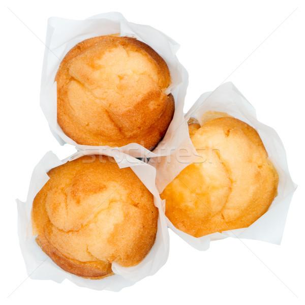 Charakteristisch spanisch Muffin süße Speisen Dessert Stock foto © homydesign