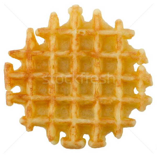 Crisp waffle Stock photo © homydesign
