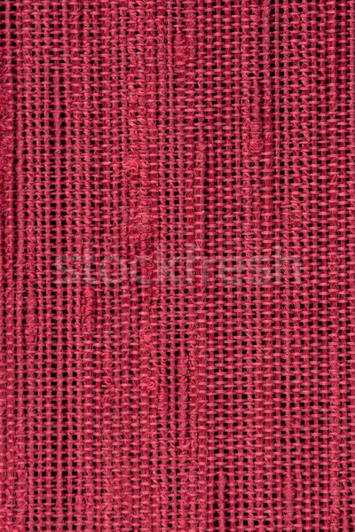 Red woven texture  Stock photo © homydesign