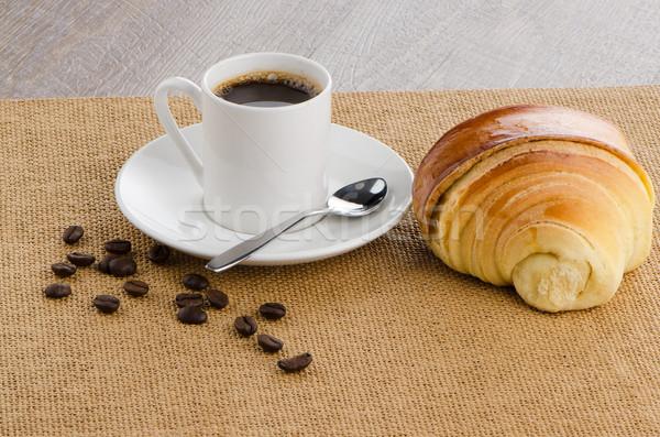 Кубок черный кофе дома текстуры продовольствие здании Сток-фото © homydesign