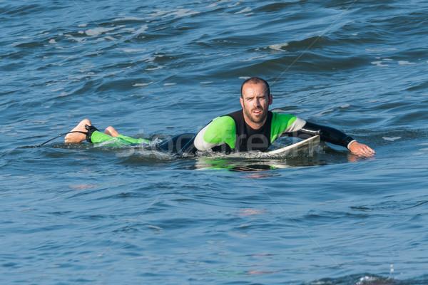 Сток-фото: серфинга · волны · Surfer · действий · океана