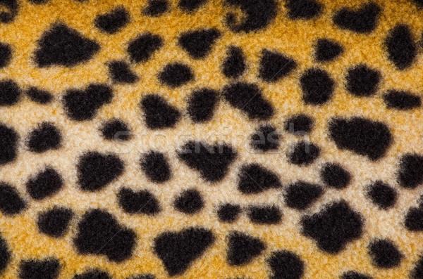 ложный Leopard кожи Места дизайна фон Сток-фото © homydesign