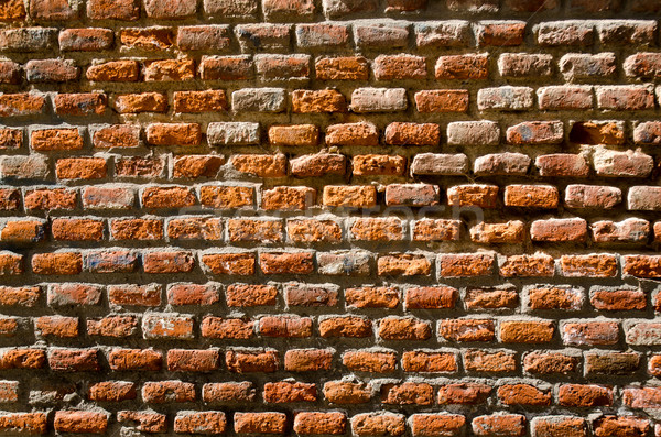 Red brick wall texture Stock photo © homydesign