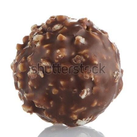 Chocolate bonbon  Stock photo © homydesign