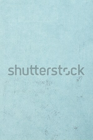 Stock photo: Blue leather texture closeup