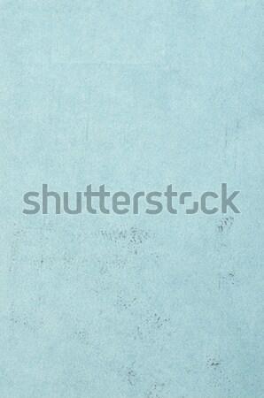 Blue leather texture closeup Stock photo © homydesign