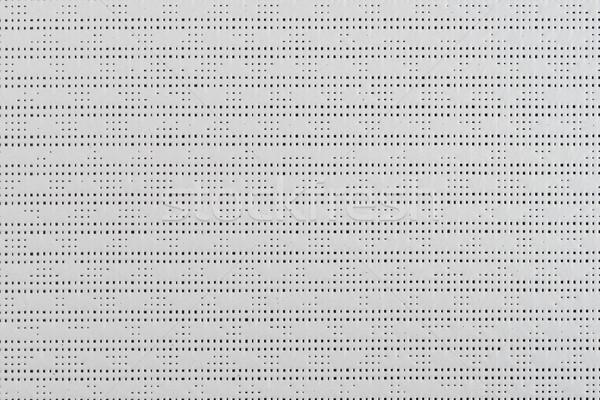 White plastic pattern Stock photo © homydesign