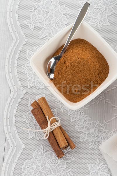 Cinnamon Stock photo © homydesign