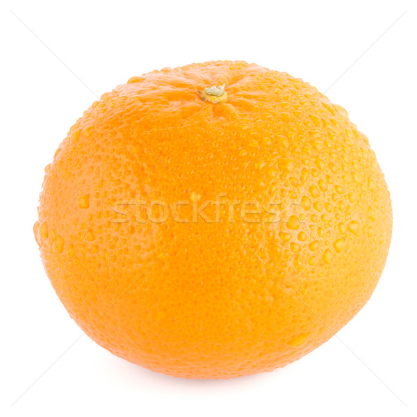 Maduro mandarina aislado blanco alimentos Foto stock © homydesign