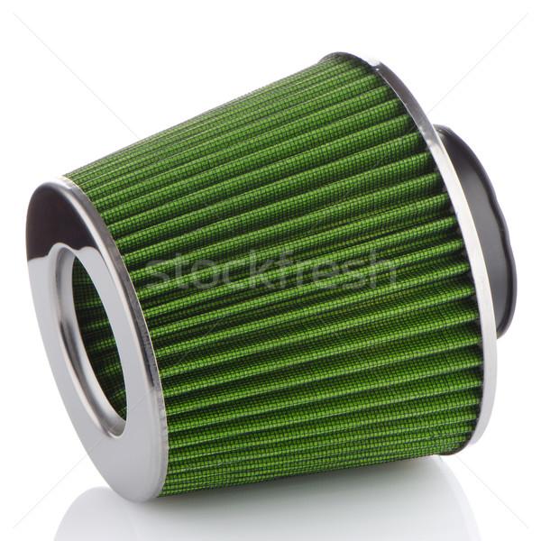Ar cone filtrar branco veículo modificação Foto stock © homydesign