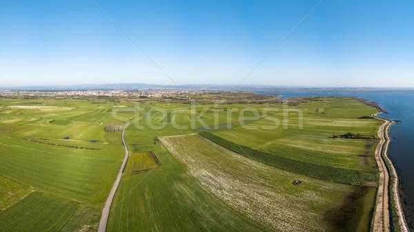 Aerial View of Ameirinhos Stock photo © homydesign