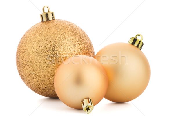 Noel dekoratif beyaz ışık eğlence Stok fotoğraf © homydesign