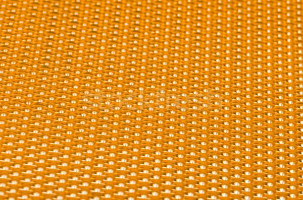Yellow metal mesh plating Stock photo © homydesign
