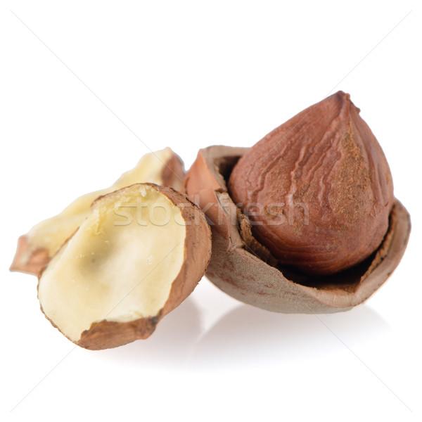 Testy hazelnuts Stock photo © homydesign