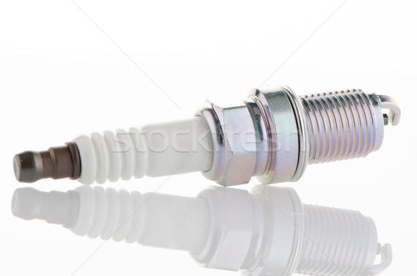 Bianco sfondo strumenti potere acciaio Foto d'archivio © homydesign