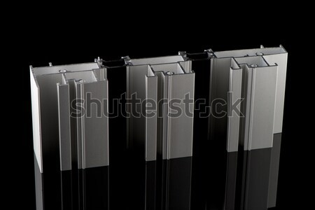 Aluminium profile sample Stock photo © homydesign
