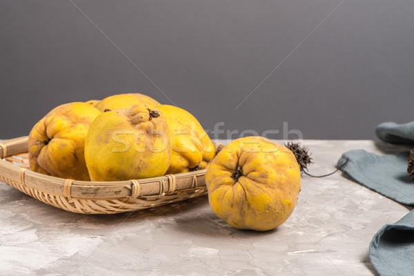 Gutuie Fructe Bucătărie Măr Fruct Imagine De Stoc