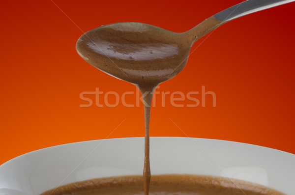 Chocolate mousse Stock photo © homydesign
