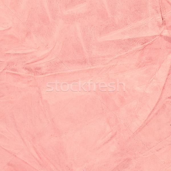 Rózsaszín bőr textúra közelkép részletes divat Stock fotó © homydesign