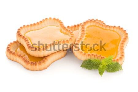 Сток-фото: извести · Jam · изолированный · белый · продовольствие · фрукты