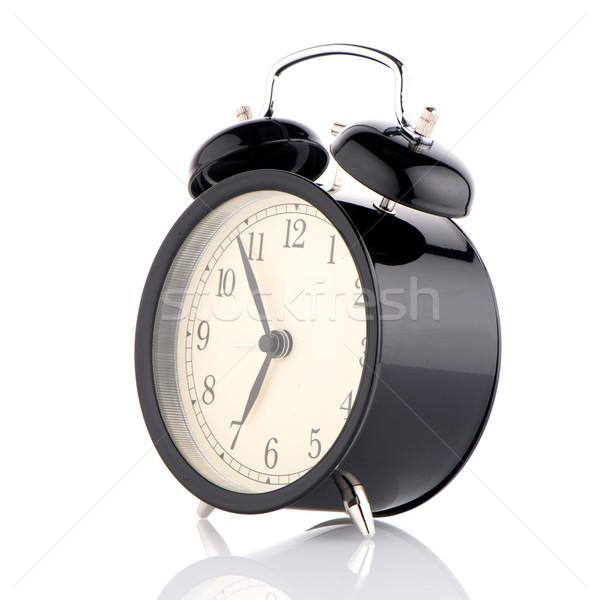 Old fashioned alarm clock Stock photo © homydesign