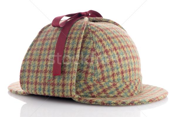 British Deerhunter or Sherlock Holmes cap Stock photo © homydesign