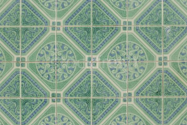 Portuguese glazed tiles 196 Stock photo © homydesign