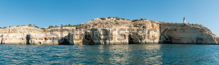 ポルトガル 自然 岩 水 自然 海 ストックフォト © homydesign