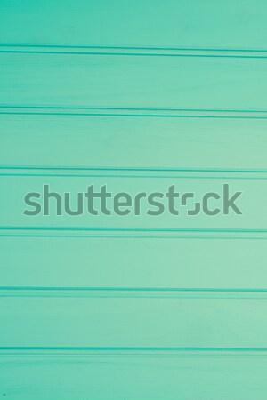Сток-фото: бирюзовый · древесины · природы · морем · таблице · зеленый