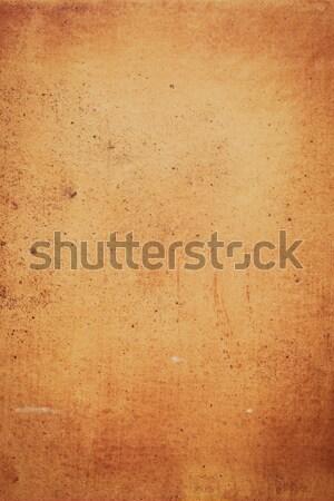 Ocher stone wall  Stock photo © homydesign