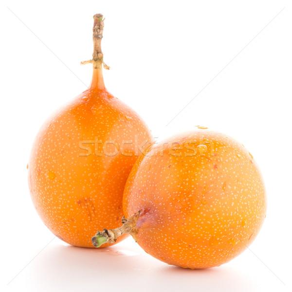 Stok fotoğraf: Tutku · meyve · gıda · grup · tropikal · sarı
