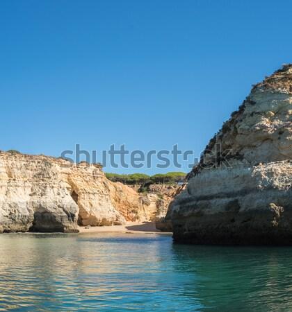 自然 岩 水 海 夏 海 ストックフォト © homydesign