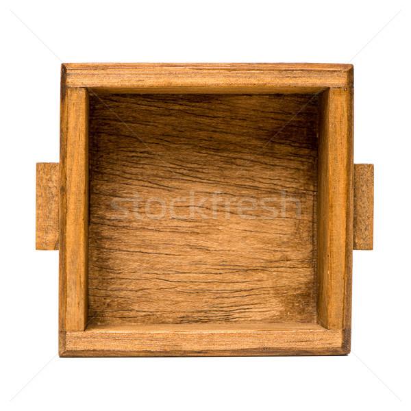 ストックフォト: 小 · 木製 · 木材 · ボックス · ツール · コンテナ