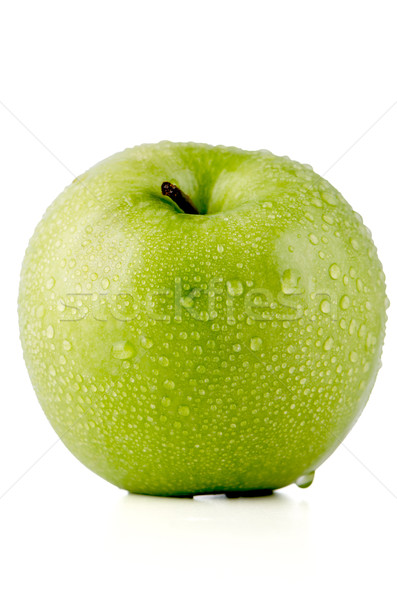 Green apple Stock photo © homydesign