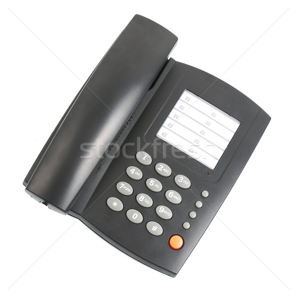 Black telephone Stock photo © homydesign