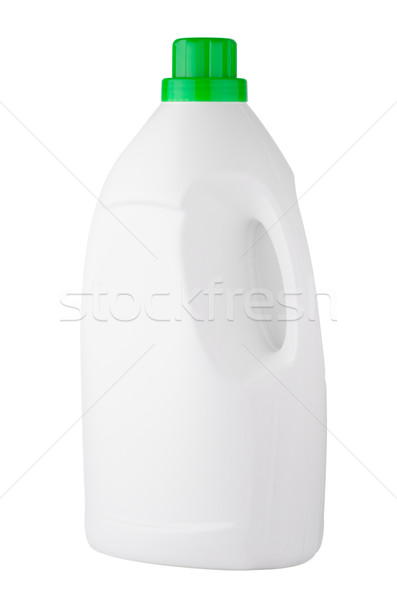 White detergent plastic bottle  Stock photo © homydesign