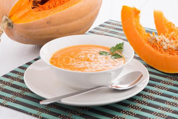 Pumpkin soup  Stock photo © homydesign