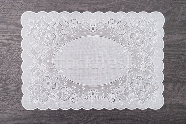 Retro place mat Stock photo © homydesign