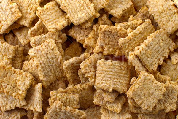 Croccante colazione cereali tutti dadi alimentare Foto d'archivio © homydesign