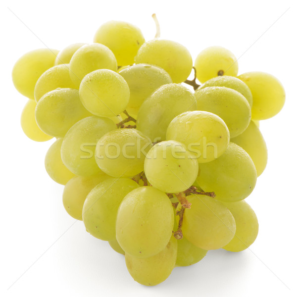 Green grapes Stock photo © homydesign