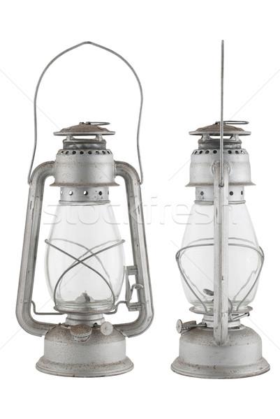 Old oil lamp Stock photo © homydesign