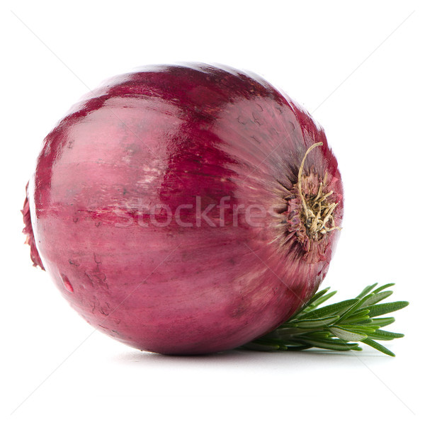 Red onion Stock photo © homydesign