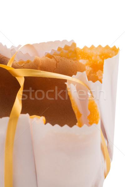 Piskóta hagyományos sivatag reggeli eszik desszert Stock fotó © homydesign