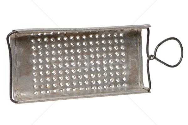 Stock photo: Old metal scraper