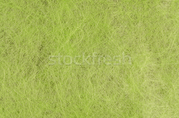 Green handmade fiber paper  Stock photo © homydesign