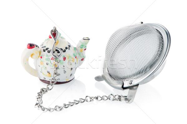 Tea strainer Stock photo © homydesign