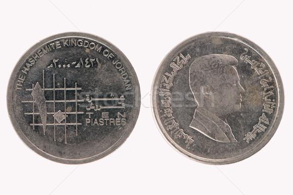 10 jordanian piasters Stock photo © homydesign