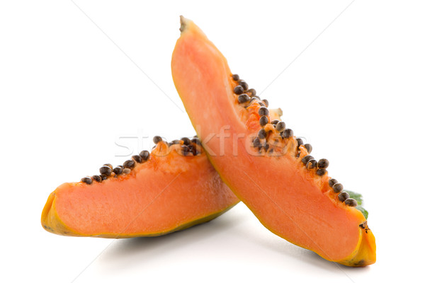 Stock photo: Fresh and tasty papaya