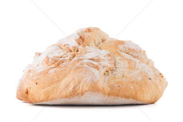 ローフ パン 孤立した 白 小麦 ストックフォト © homydesign