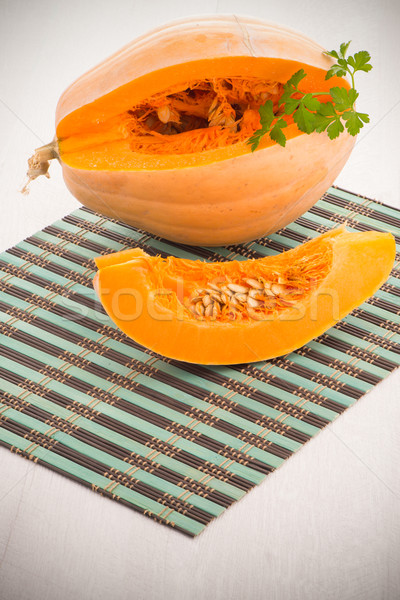Pumpkin slice  Stock photo © homydesign